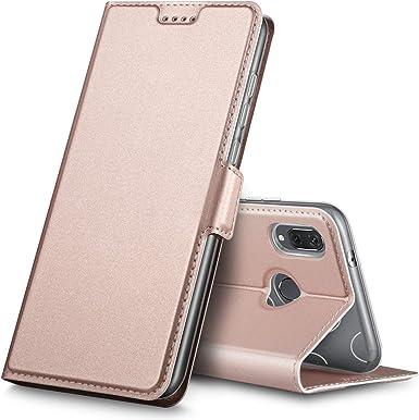 Funda con tapa para Huawei P20 Lite, cierre magnético, protección completa, resistente a la suciedad, sensación cómoda, función atril, para smartphone Huawei P20 Lite, de alta calidad de iBetter: Amazon.es: Electrónica