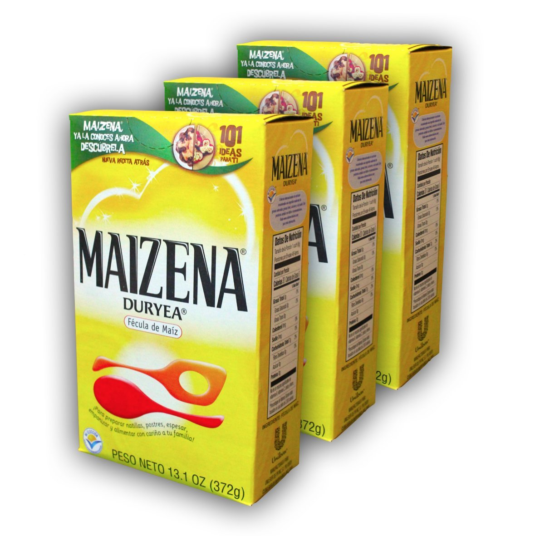 Amazon.com : Maizena Duryea - Corn Starch (Fecula de Maiz) 13.1 Oz (Pack of 3) : Grocery & Gourmet Food