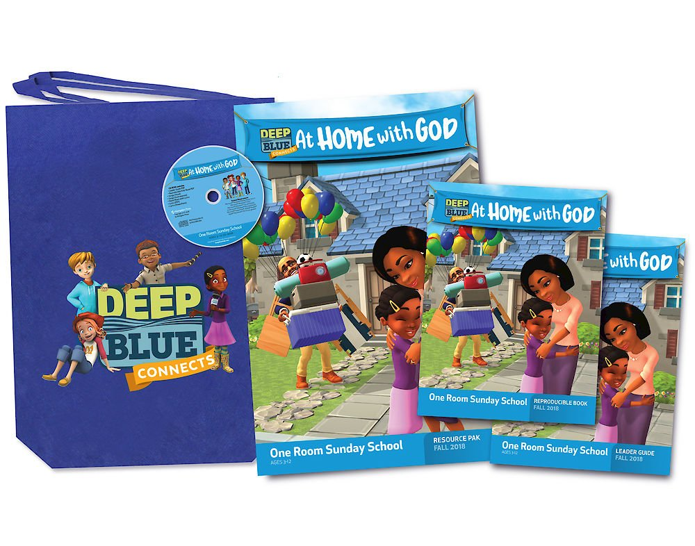 Read Online Deep Blue One Room Sunday School Kit Fall 2018: Ages 3-12 PDF