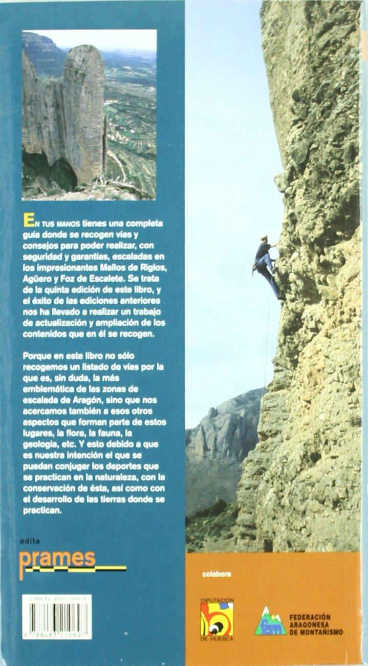 Guía de escalada en riglos, agüero y foz de escalete: Amazon ...