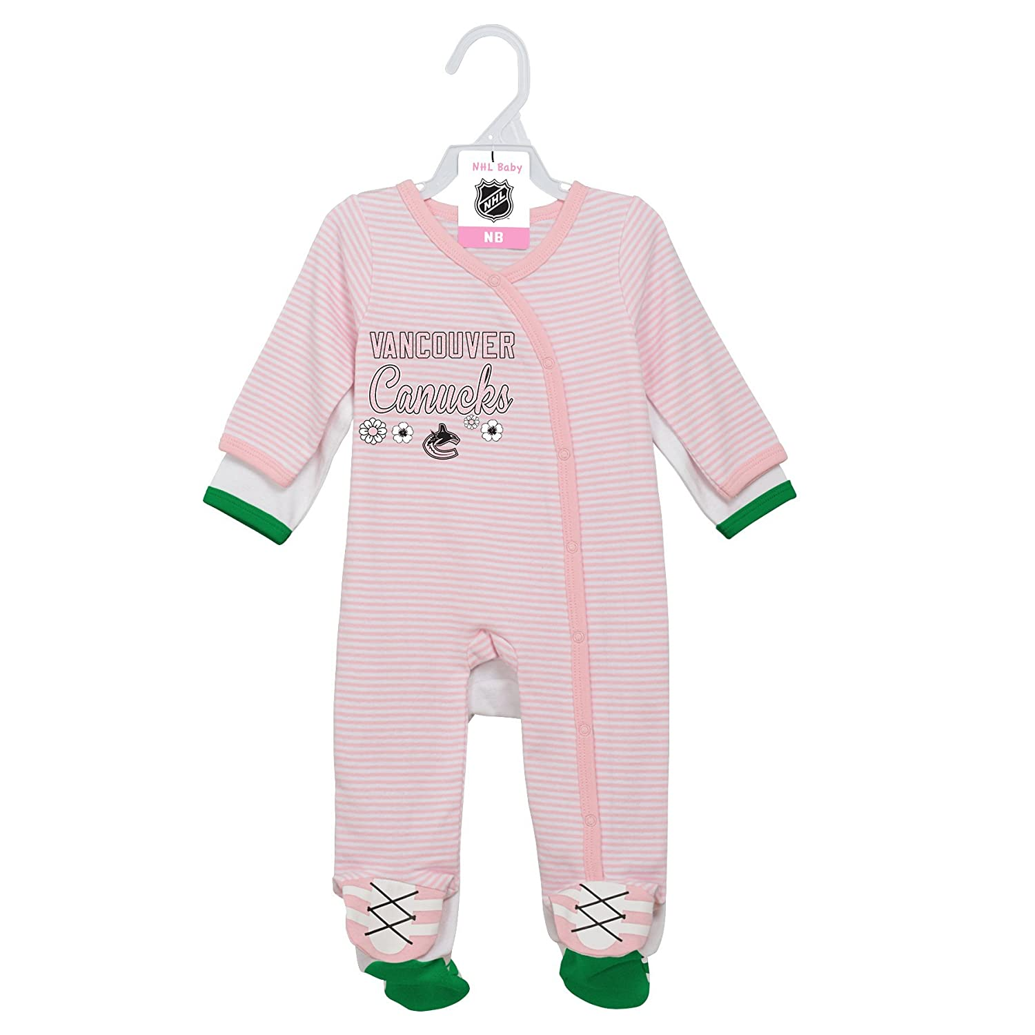 "NHL Layette新生児"" 2nd半分"" 2pieceカバーオールセット B075Y5W5QP  6-9 Months 6-9 Months