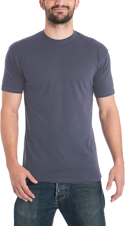 Lower East Herren T-Shirt mit Rundhalsausschnitt 5er Pack