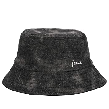 Mens Ladies Adjustable Bucket Hat Festival Fishing Summer Sun Beach Hat Cap