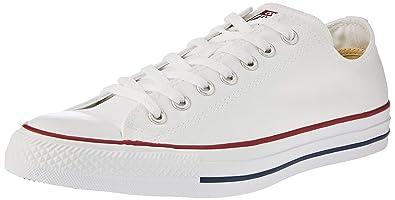 aa88f4c136f Converse Unisex Chuck Taylor All Star Hi Basketball Shoe (4.5 M US, Optical  White