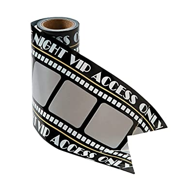 Film Strip Caution Tape for Party (20 feet) Party Decor: Toys & Games