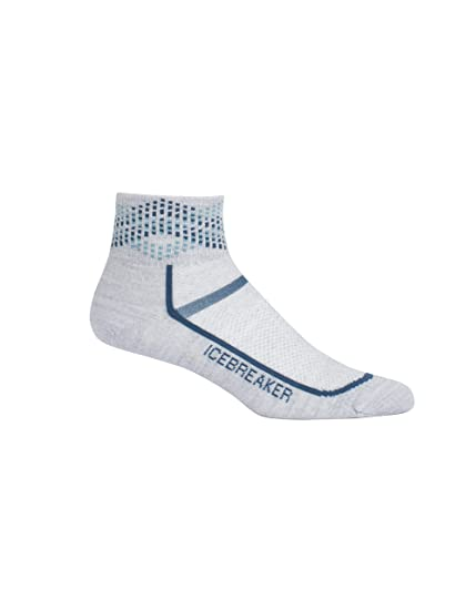 d96b1e0417e Icebreaker Merino Women's Multisport Ultra Light Mini Athletic Socks,  Alpine Argyle/Blizzard Heather/