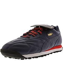 ce5bb1b90ed8 PUMA Men s King Avanti Russia Fm Ankle-High Leather Fashion Sneaker
