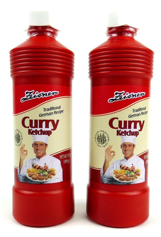 Zeisner Curry Ketchup - 2 Bottle Bundle (PACK OF 2)