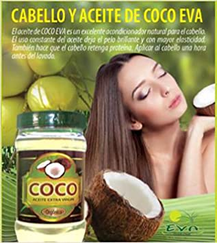 que aceite de coco sirve para el pelo