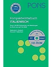 PONS Kompaktwörterbuch Italienisch: Rund 130.000 Stichwörter und Wendungen. Italienisch-Deutsch/Deutsch-Italienisch. Mit CD-ROM