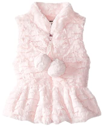 0620f5bab Amazon.com  Widgeon Baby Girls  Peplum Pom Pom Vest  Clothing