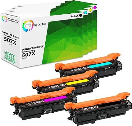 3 pk CE401A CE402A CE403A Color Set for HP Enterprise 500 color M551dn Printer