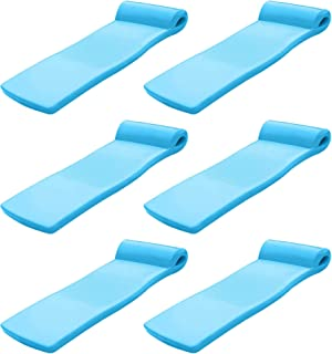 product image for TRC Recreation Super Soft Ultra Sunsation Pool Float Water Lounger Raft (6 Pack)