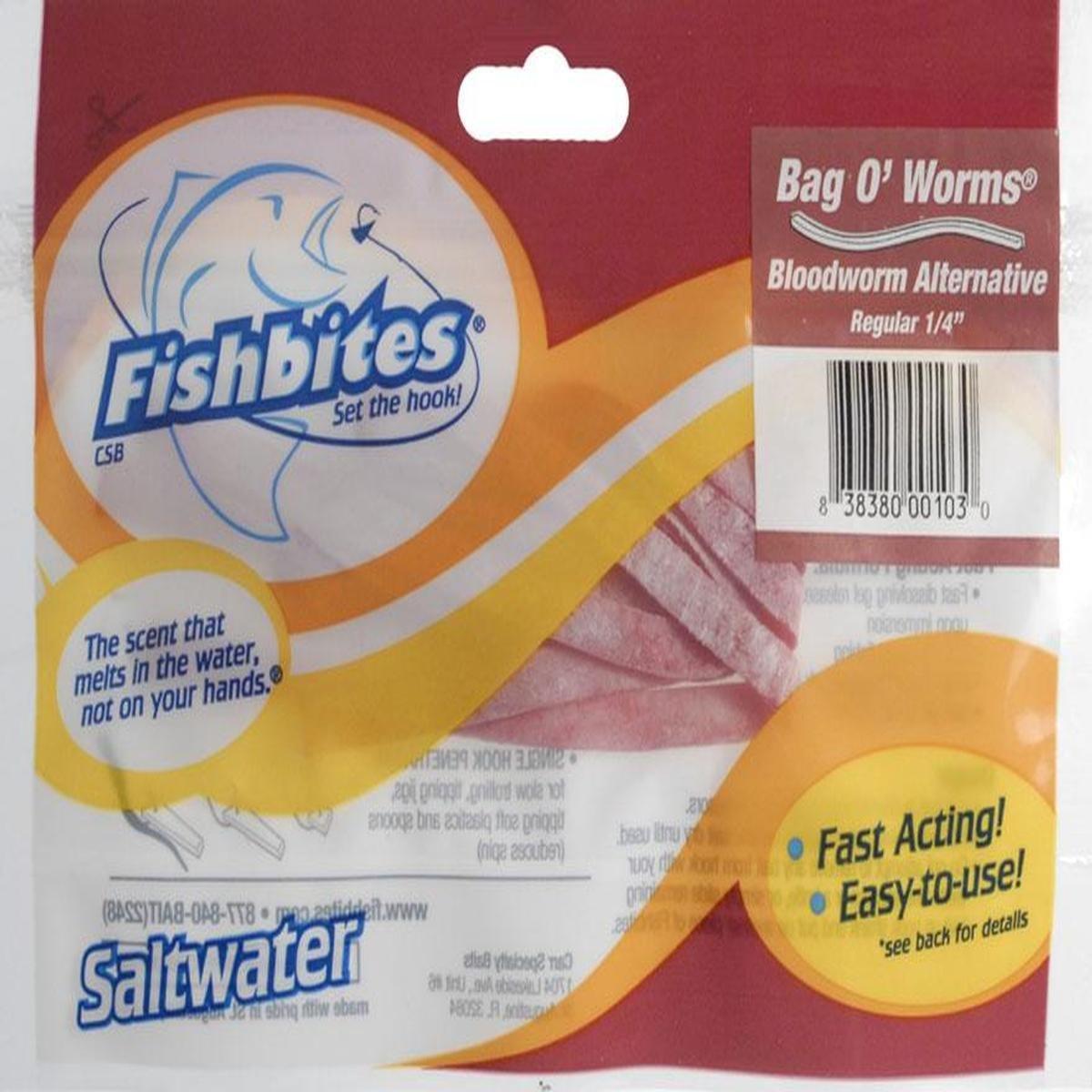 Fishbites Fishbites - Bloodworms 1/4 Fa - 103