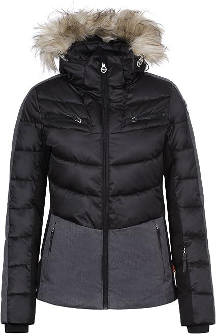 icepeak cathy jacke für damen schwarz
