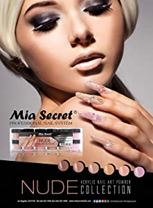 6pcs Mia Secret Nude Collection Acrylic Nail Art Powder