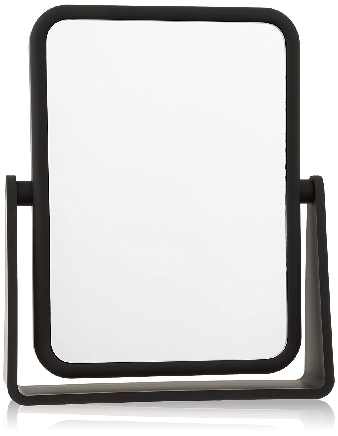 Danielle Soft Touch 7X Rectangular Mirror, Matte Black