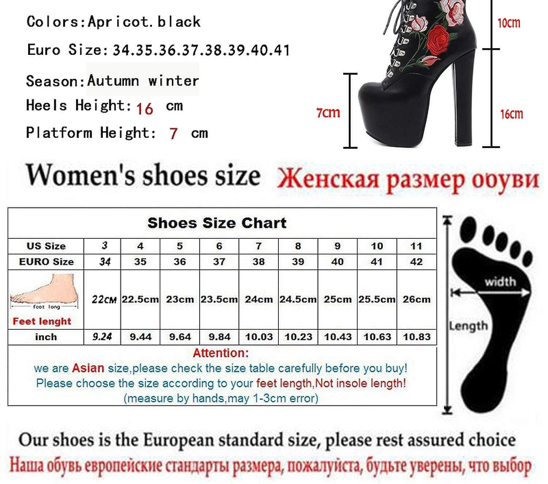 messieurs et mesdames les bottines noires à talons carrés carrés carrés des femmes à une bonne conception plushboots fermeture courte taille le plus économique bw26494 toute la gamm e de spé cifi cat ions 45d581
