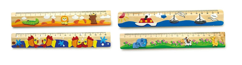 Small Foot by Legler 7978 Righelli, Legno,, 20 x 3 x 0.5 cm Small foot company 2021709