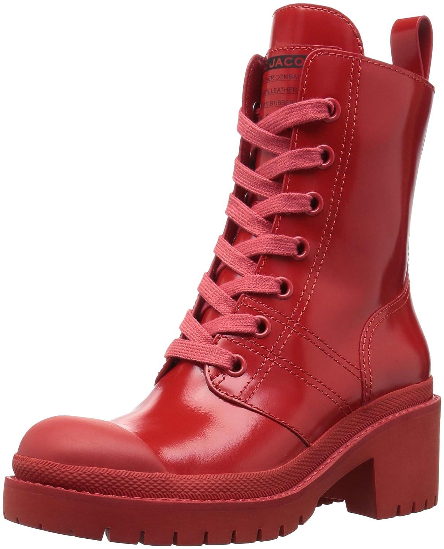 Marc Jacobs Women's Bristol Laced Ankle Boot B07822JM8W 35.5 M EU (5.5 US)|Red