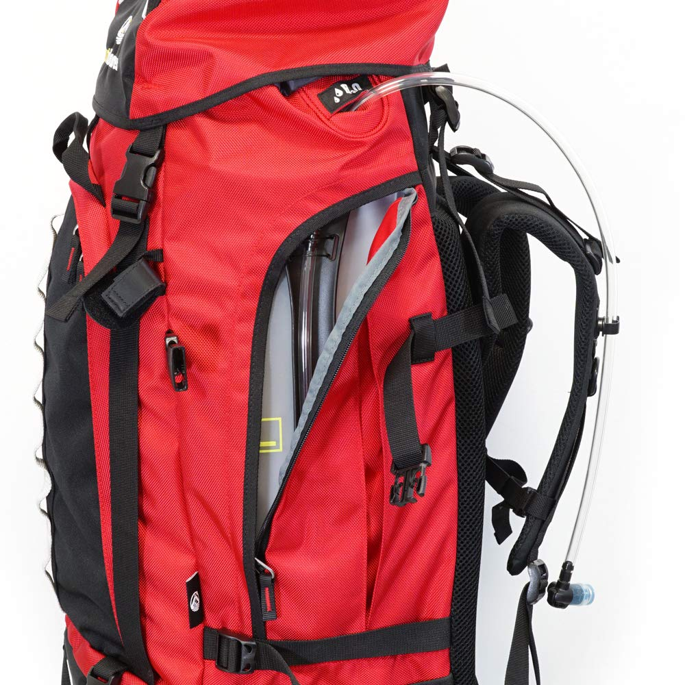 for Backpacking ergonomic 100 Liter Rucksack Front Loading Outdoorer Atlantis Backpack