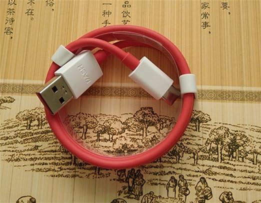 Interesting® Rojo 2.4A Carga Rápida Tipo-C USB 3.1 Cargador ...