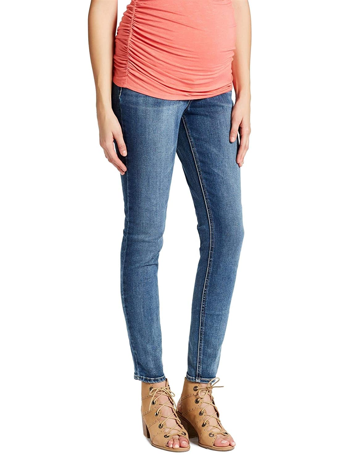 a283b855c17 Jessica Simpson Secret Fit Belly Skinny Leg Maternity Jeans at Amazon  Women s Clothing store