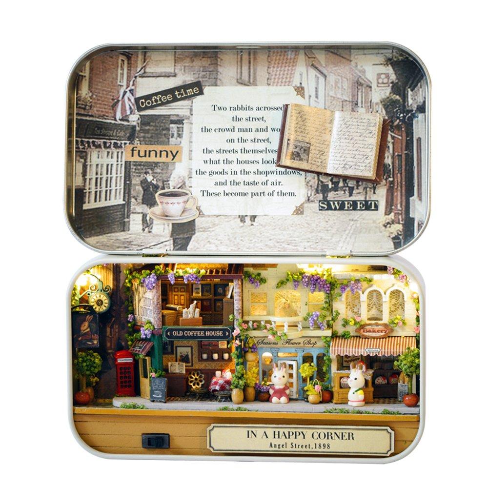 comprar ahora Type 6 Decdeal Decdeal Decdeal Puzle de Madera Diverdeido Teatro Caja DIY Miniatura casa de muñecas Modelo casa decoración Juguete niños Regalo  Descuento del 70% barato