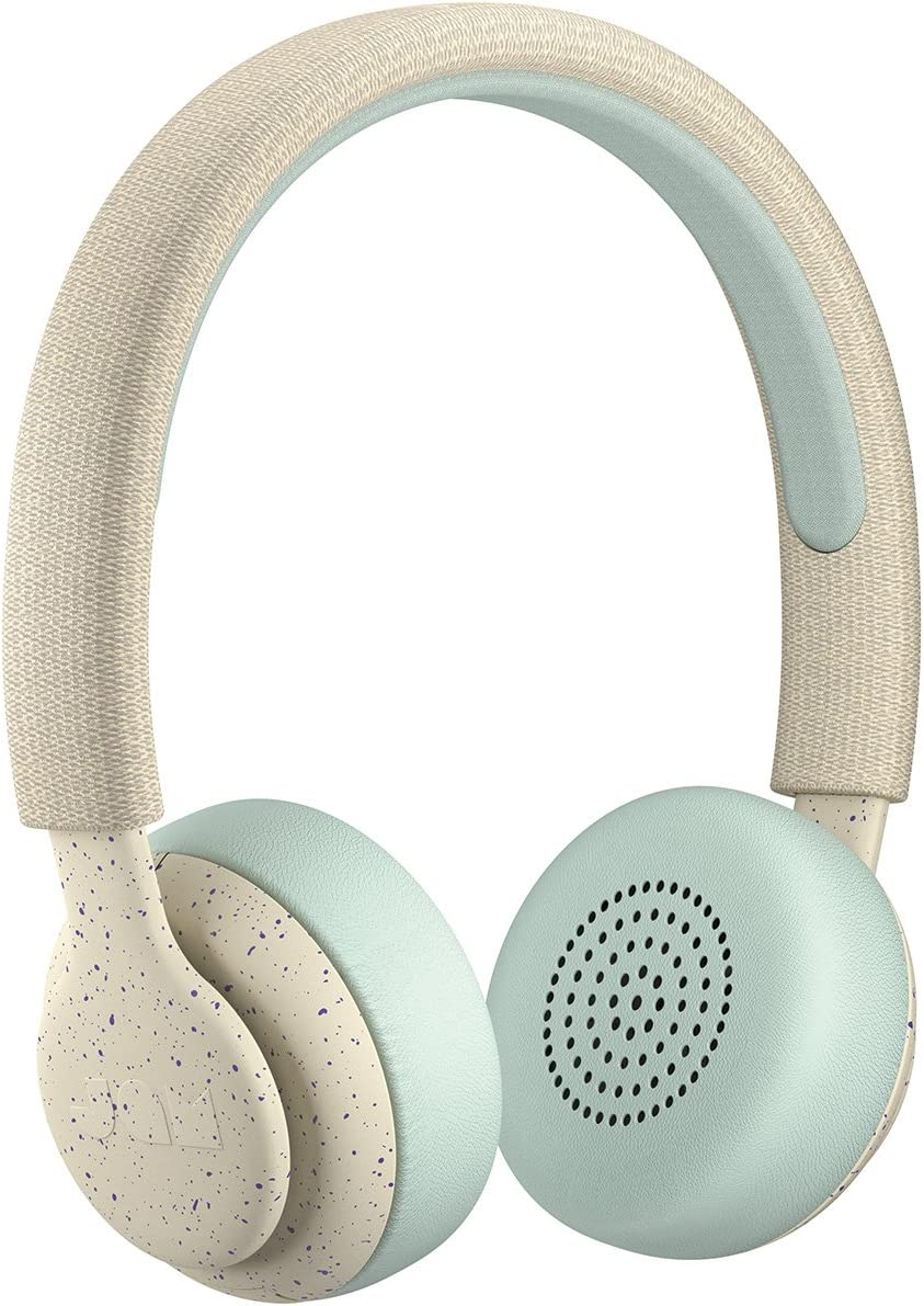 Been There, On-Ear Bluetooth Headphones  14 Hour Playtime, Hands-Free Calling, Sweat Rain Resistant IPX4 Rated, 50 ft. Range  JAM Audio Cream Soda HX-HP202CS