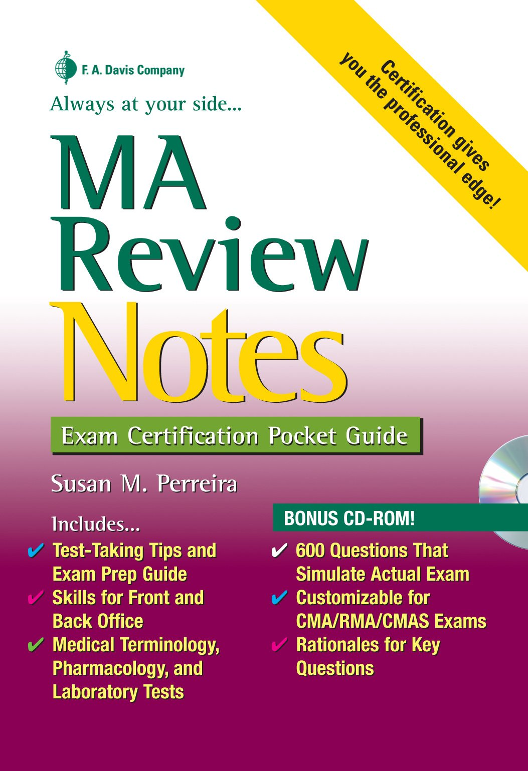 Buy Ma Review Notes Exam Certification Pocket Guides Book Online