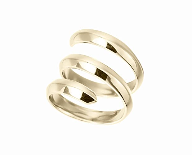 ec791f10fbba8 Amazon.com: Gold dipped 925 sterling silver ring for men by Majade ...