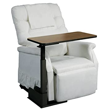 Amazon.com: Drive Medical Deluxe Seat Lift Chair Overbed Table ...