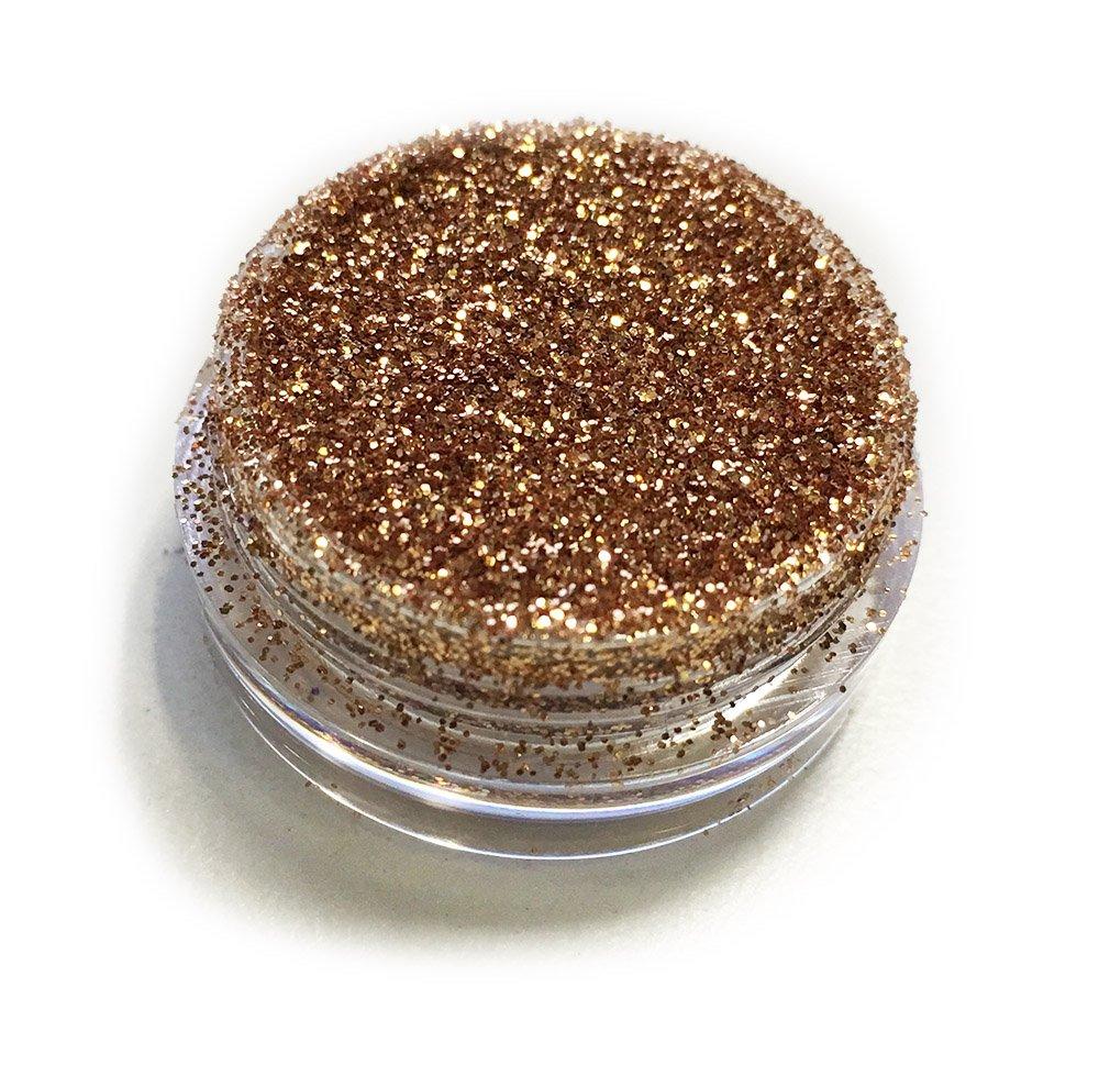 Gold Caramel Sparkle Eye Shadow Loose Glitter Dust Body Face Nail Art Party Shimmer Make-Up Kiara World