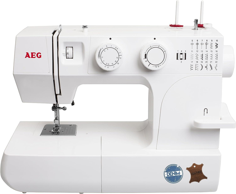 AEG máquina de coser 145 DL – para el costura con Jeans & piel ...