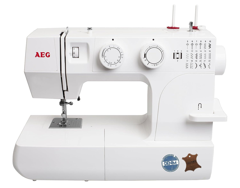 AEG máquina de coser 145 DL - para el costura con Jeans & piel: Amazon.es: Hogar