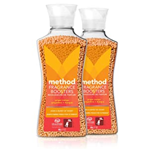 Method Laundry Fragrance Boosters, Ginger Mango, 17 Ounces (2 Pack)