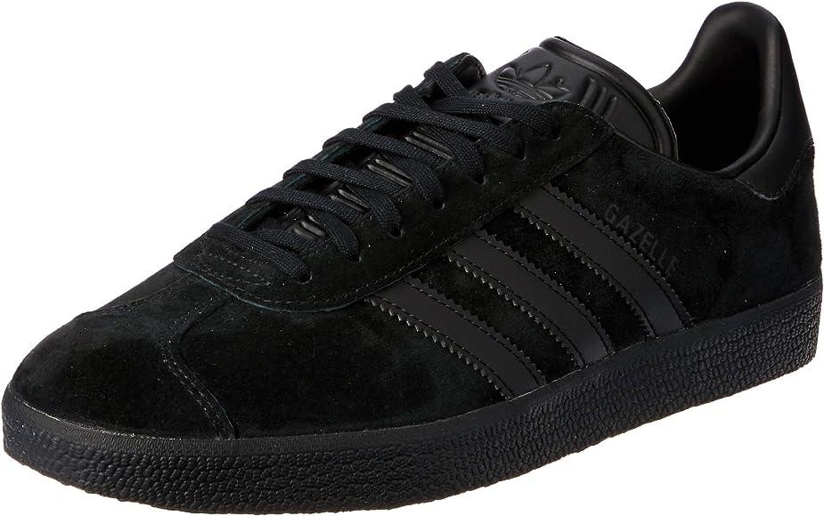 Es una suerte que Respetuoso laringe  adidas Men's Gazelle Cq2809 Low-Top Sneakers, Black (Core Black ...