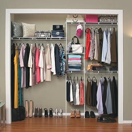 Attirant ClosetMaid 5 8 Ft. Closet Organizer