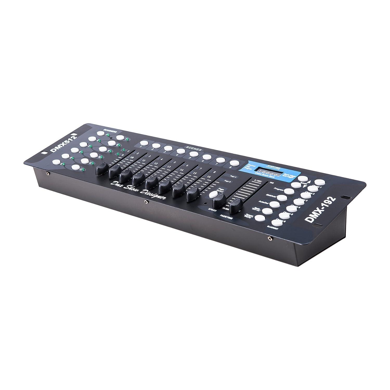 CO-Z 192 DMX 512 Stage DJ Light Controller Lighting Party Pub Night Club DJ KTV Moving Heads FBA_CO-Z DMX 0192