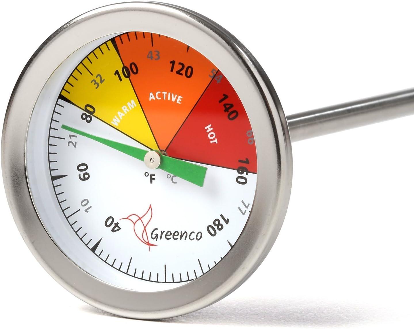 Greenco Compost Soil Thermometer