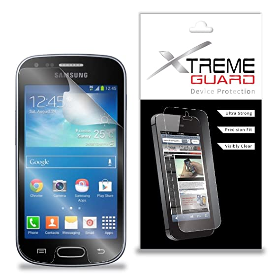 Amazon com: XtremeGuard Screen Protector for Samsung Galaxy S Duos 2