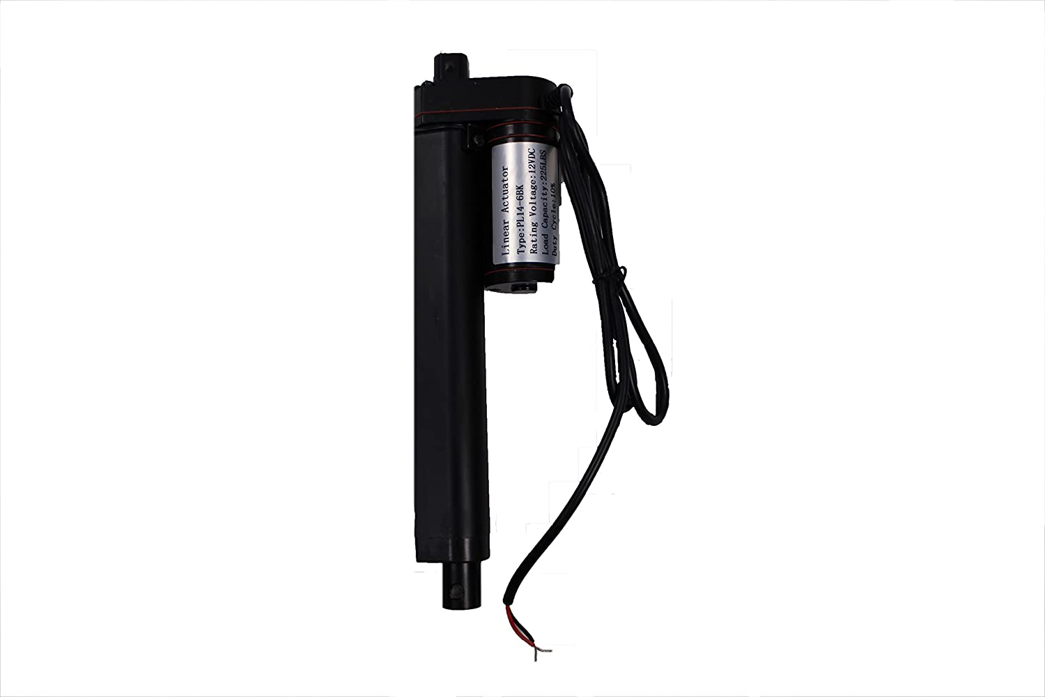 6 Inch Linear Actuator 12 Volt 225 Pounds 46 Amp Draw Wiring A Switch For 12v Drawblack Automotive