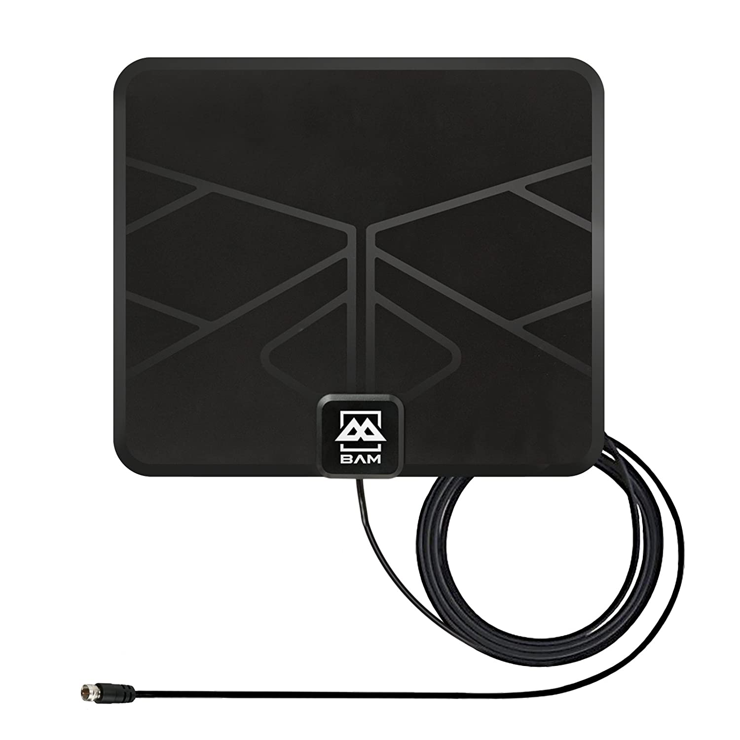 Amazon.com: BAM 25-Mile Digital HD TV Antenna - Indoor OTA (Over the Air) VHF / UHF HDTV Receiver: Home Audio & Theater