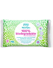 Mum & You 100% Biodegradable Vegan Registered Plastic Free Baby Wet Wipes, Pack of 12, (672 Wipes in Total). 98% Water, 0% Plastic, Hypoallergenic & Dermatologically Tested.