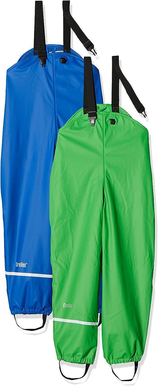 CareTec Kids Rainpaints with Fleece Lining 2-Pack Blue 92 Oceanblue 7060