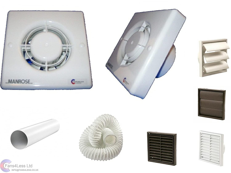 Bezel For Manrose Shower Extractor Fan