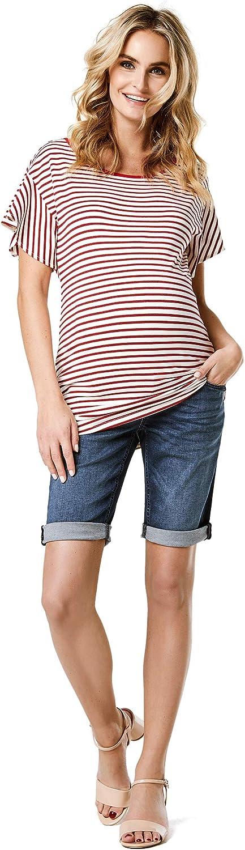 Noppies Umstandsmode Damen Umstandsshorts Jeans Pjilo