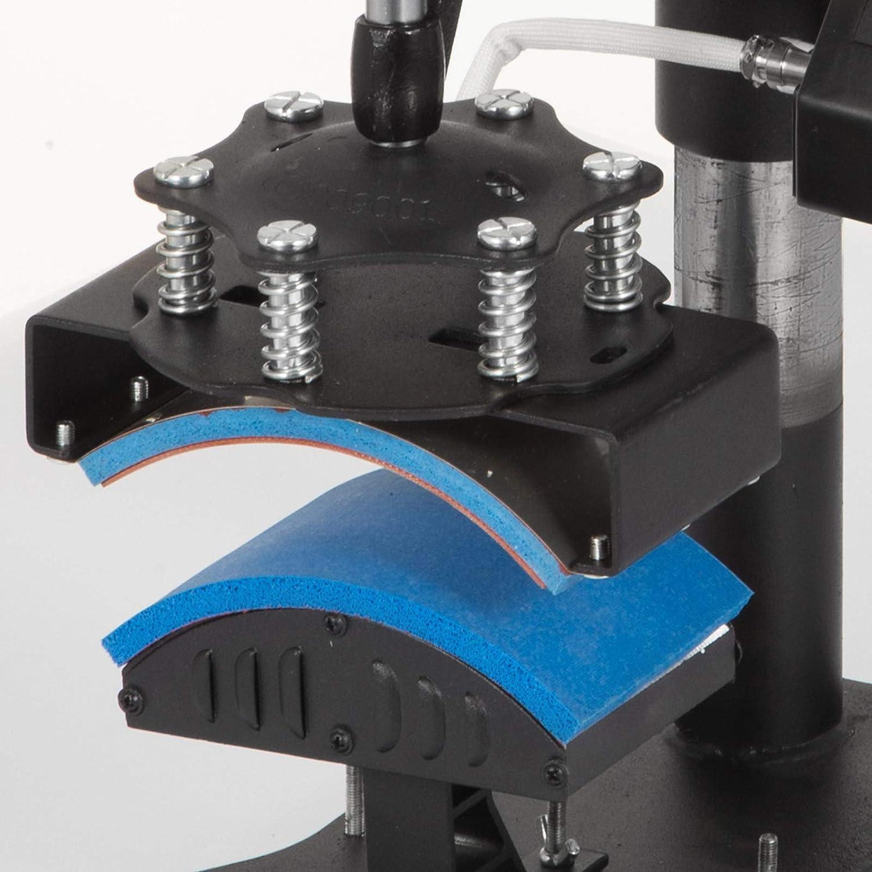 Mophorn Heat Press 12x15 Inch 5IN1 Heat Press Machine Transfer Combo Swing-Away Heat Press Machine for T Shirt Mug Plate Hat Press