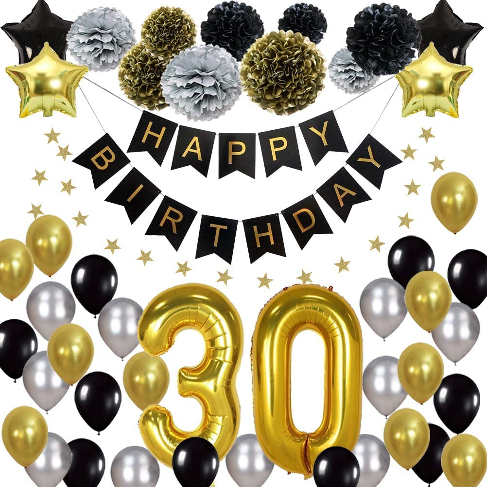 ~ Party Supplies Decorations Helium HAPPY BIRTHDAY Bro Time LATEX BALLOONS 15