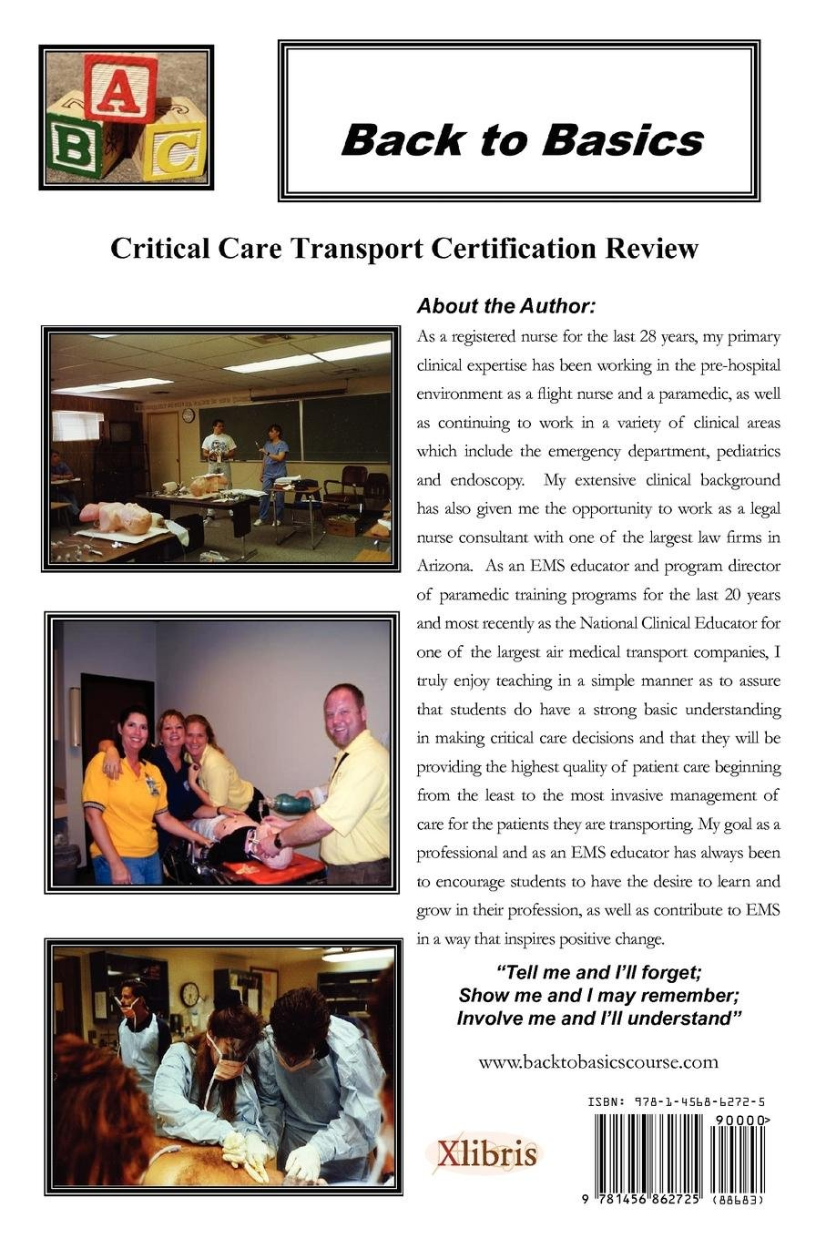 Back To Basics Critical Care Transport Certification Review Orchid